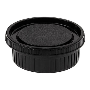 Fotodiox Camera Body & Rear Lens Cap Set for All Minolta SR/MD/MC Compatible Cameras & Lenses - Black