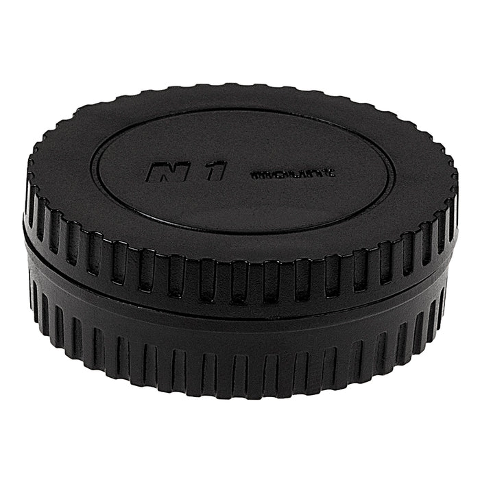 Fotodiox Camera Body & Rear Lens Cap Set for All Nikon 1 Series Compatible Cameras & Lenses