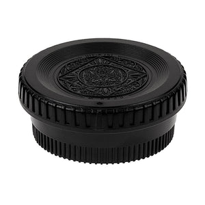 Fotodiox Designer Camera Body & Rear Lens Cap Set for All Nikon F-Mount Compatible Cameras & Lenses