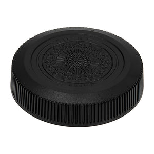 Fotodiox Plastic Rear Lens Cap - Compatible with Canon RF Mount Lenses and Adapter Mounts (Replaces Canon 2962C001 Dust Lens Cap RF)