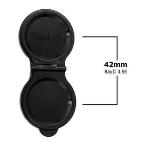 Fotodiox Pro Lens Cap for Rollei TLR Camera with Bay II (B2) 3.5E - Plastic Cap, fits Twin Lens Rollei (TLR) Bay II Mount, 3.5 C/E (Planar, Xenotar) Lenses