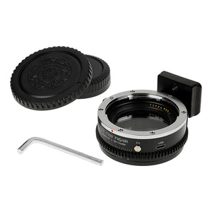 Vizelex ND Throttle Fusion Smart AF Lens Adapter - Canon EOS (EF / EF-S) D/SLR Lens to Fujifilm X-Series Mirrorless Cameras with Full Automated Functions and Built-In Variable ND Filter (1 to 8 Stops)
