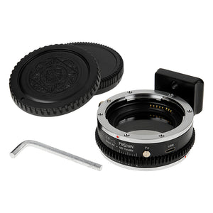 Vizelex ND Throttle Fusion Smart AF Lens Adapter - Canon EOS (EF / EF-S) D/SLR Lens to Select L-Mount Alliance Mirrorless Cameras with Full Automated Functions and Built-In Variable ND Filter (1 to 8 Stops)