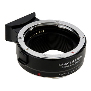 Fotodiox Pro Fusion Adapter, Smart AF Lens - Canon EOS EF D/SLR Lens to Canon RF Mount Mirrorless Cameras with Full Automated Functions