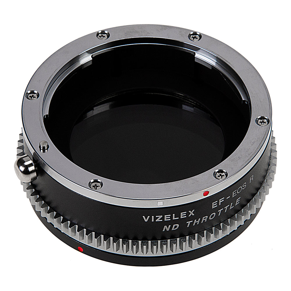 NOT EF-S Vizelex ND Throttle Lens Mount Adapter Compatible with Canon EOS EF 1 to 8 Stops DSLR Lens to Canon RF Mount Mirrorless Camera Body with Built-in Variable ND Filter
