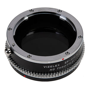 Vizelex ND Throttle Lens Mount Adapter from Fotodiox Pro Compatible with Canon EOS (EF / EF-S) D/SLR Lenses to Canon RF Mount Mirrorless Camera Body with Built-In Variable ND Filter (1 to 8 Stops)