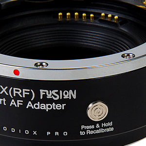Fotodiox Pro Fusion Adapter, Smart AF Adapter - Compatible with Canon EOS (EF / EF-S) D/SLR Lenses to Fujifilm X-Series Mirrorless Cameras with Full Automated Functions