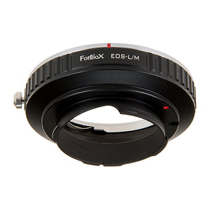 Fotodiox Lens Adapter with Leica 6-Bit M-Coding - Compatible with Canon EOS (EF / EF-S) D/SLR Lenses to Leica M Mount Rangefinder Cameras