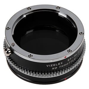 Vizelex ND Throttle Lens Mount Adapter from Fotodiox Pro Compatible with Canon EOS (EF / EF-S) D/SLR Lenses to Nikon Z-Mount Mirrorless Camera Body with Built-In Variable ND Filter (ND2-ND1000)