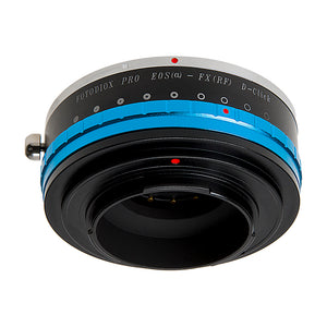 Fotodiox Pro Lens Mount Adapter - Canon EOS (EF Only) D/SLR Lens to Fujifilm Fuji X-Series Mirrorless Camera Body