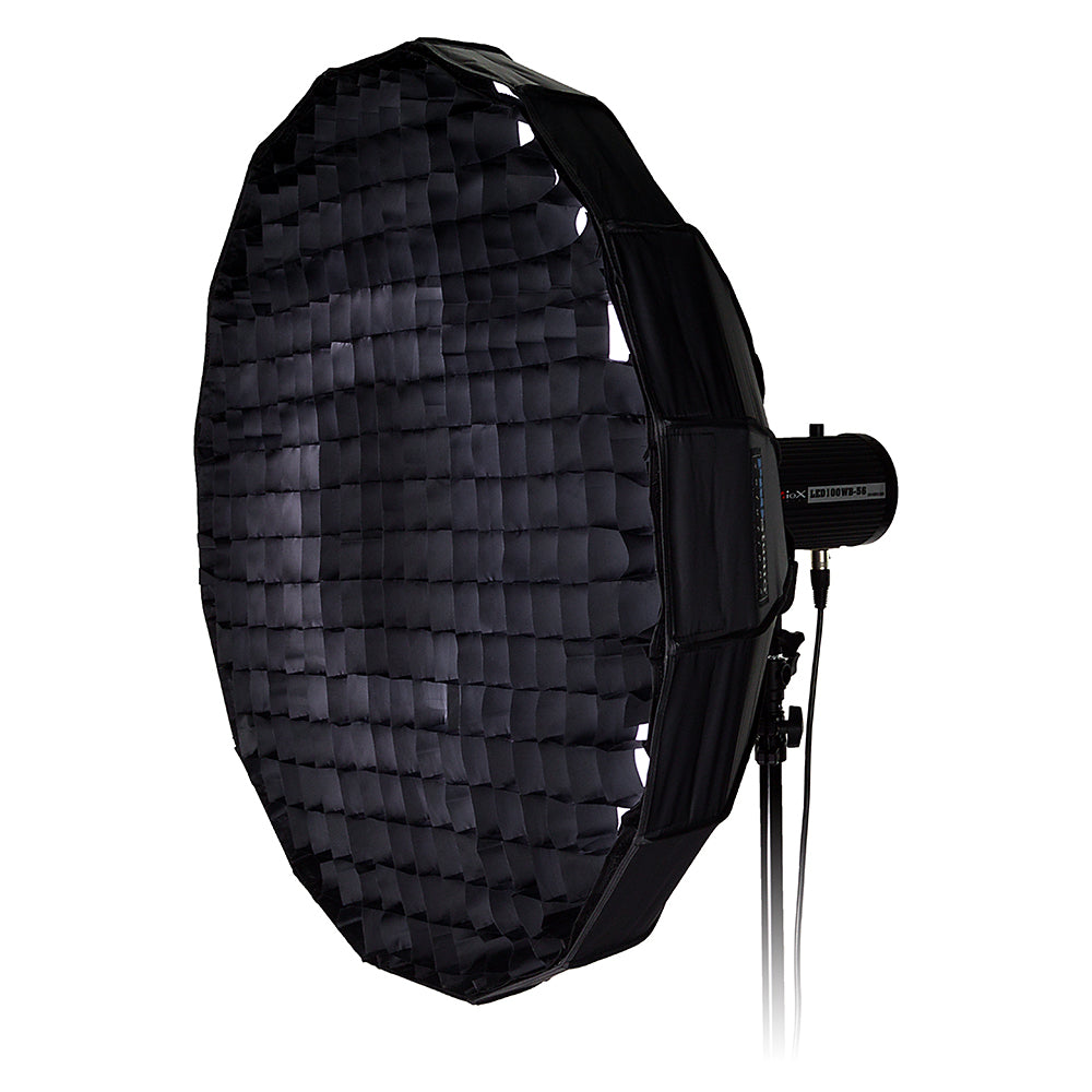 Pro Studio Solutions EZ-Pro 24in Collapsible Beauty Dish and Softbox Combination w//Broncolor Pulso Speedring