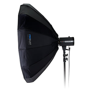 Pro Studio Solutions EZ-Pro Beauty Dish and Softbox Combination with Broncolor Speedring for Broncolor (Impact), Visatec, and Compatible - Quick Collapsible, Soft White Interior, with Double Diffusion Panels