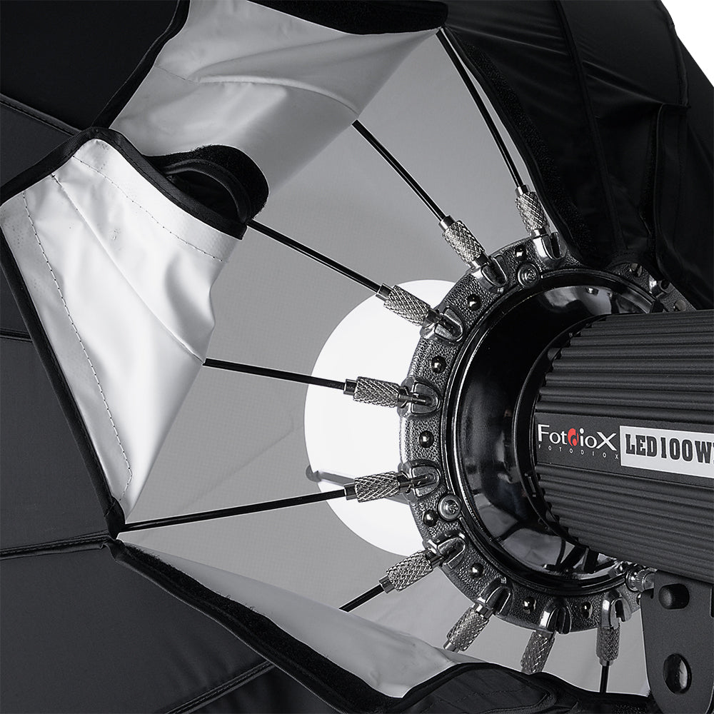 Flash and Monolights 140cm Beauty Dish and Softbox Combination w//Elinchrom Speedring Pro Studio Solutions EZ-Pro 56in Soft Collapsible Beauty Dish with Speedring for Bayonet Mountable Strobe