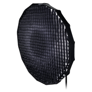 Pro Studio Solutions EZ-Pro Beauty Dish and Softbox Combination with Broncolor Speedring for Bronocolor (Pulso, Primo, and Unilite), Flashman, and Compatible - Quick Collapsible, Soft White Interior, with Double Diffusion Panels
