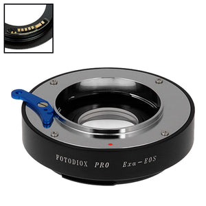 Fotodiox Pro Lens Mount Adapter Compatible with Exakta, Auto Topcon SLR Lens to Canon EOS (EF, EF-S) Mount SLR Camera Body - with Generation v10 Focus Confirmation Chip