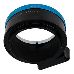 Fotodiox Pro Lens Mount Adapter Compatible with Canon FD & FL 35mm SLR lenses to Nikon Z-Mount Mirrorless Camera Bodies