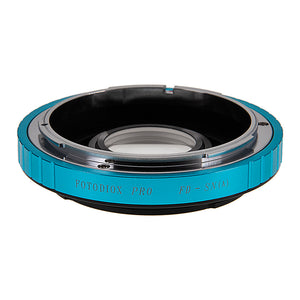Fotodiox Pro Lens Mount Adapter - Canon FD & FL 35mm SLR lens to Sony Alpha A-Mount (and Minolta AF) Mount SLR Camera Body