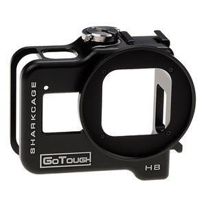 Fotodiox Pro GoTough Sharkcage for GoPro HERO8 Naked Action Cameras - Skeleton Housing Protective Cage Case