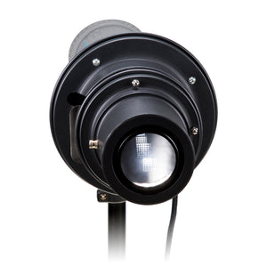 Fotodiox Universal Gobo Image Projection Attachment for LED Lights w/ Built-In Gobo Holder & Aperture Iris