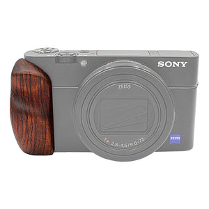 Fotodiox Pro Wooden Camera Hand Grip for Sony Cyber-shot DSC-RX100 VI Camera