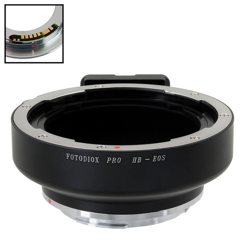 Fotodiox Pro Lens Mount Adapter Compatible with Hasselblad V-Mount SLR Lenses to Canon EOS (EF, EF-S) Mount SLR Camera Body - with Generation v10 Focus Confirmation Chip