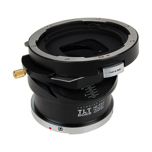 Fotodiox Pro TLT ROKR - Tilt / Shift Lens Mount Adapter Compatible with Hasselblad V-Mount SLR Lenses to Canon RF Mount Mirrorless Camera Body
