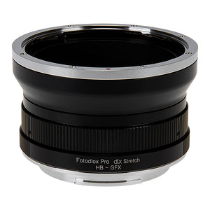 Fotodiox DLX Stretch Lens Mount Adapter - Hasselblad V-Mount SLR Lens to Fujifilm Fuji G-Mount GFX Mirrorless Camera Body with Macro Focusing Helicoid