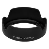 EW-54 Bayonet Lens Hood for The Canon EF-M 18-55mm f/3.5-5.6 is STM Lens