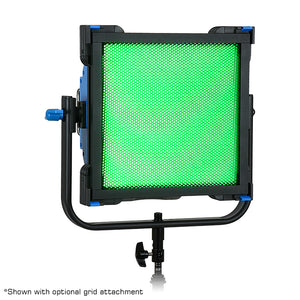 Fotodiox Pro FACTOR Prizmo 150 RGB+W LED Light - 1x1' Multi Color Dimmable Studio Light with Special Effects Settings & Softbox