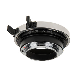 Fotodiox Pro Lens Mount Adapter - Compatible with Arri LPL (Large Positive Lock) Mount Lenses to Canon RF Mount Mirrorless Cameras