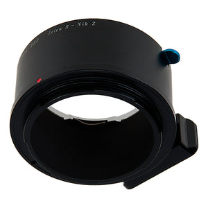 Fotodiox Pro Lens Mount Adapter Compatible with Leica R SLR Lenses to Nikon Z-Mount Mirrorless Camera Bodies