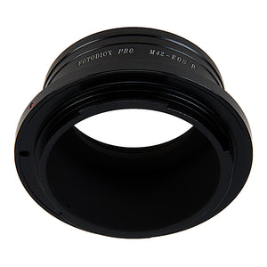 Fotodiox Pro Lens Mount Adapter Compatible with M42 Screw Mount SLR Lenses to Canon RF (EOS-R) Mount Mirrorless Camera Bodies