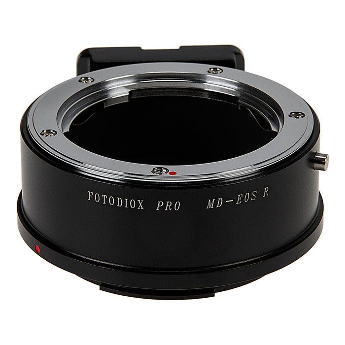 Fotodiox Pro Lens Mount Adapter Compatible with Minolta Rokkor (SR / MD / MC) SLR Lenses to Canon RF (EOS-R) Mount Mirrorless Camera Bodies