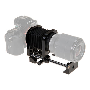 Fotodiox Macro Bellows for Sony Alpha E-Mount (NEX) MILC Camera System for Extreme Close-up Photography