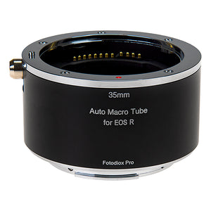 Fotodiox Pro Automatic Macro Extension Tube, 35mm Section - for Canon RF (EF-R) Mount MILC Cameras for Extreme Close-up Photography