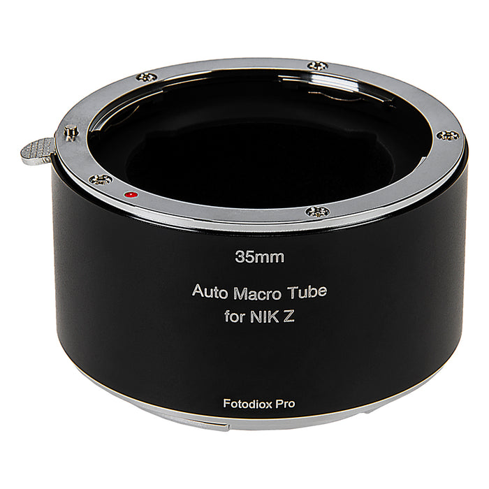 Fotodiox Pro Automatic Macro Extension Tube, 35mm Section - for Nikon Z-Mount MILC Cameras for Extreme Close-up Photography