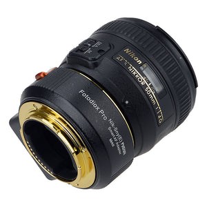 Fotodiox FUSION Smart AF Adapter Mark II, Nikon Nikkor F Mount G-Type D/SLR Lens to Select Sony E-Mount Mirrorless Cameras with Updated Full Automated Functions