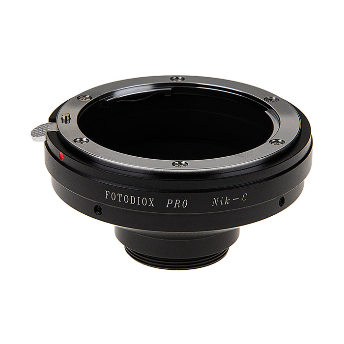 "Fotodiox Pro Lens Adapter Nikon F Mount D/SLR Lens to C-Mount (1"" Screw Mount) Cine & CCTV Camera Body"