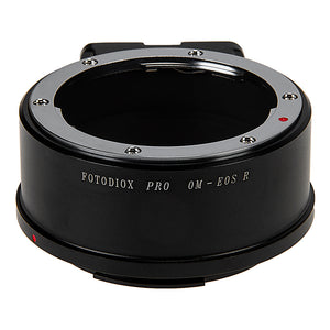 Fotodiox Pro Lens Mount Adapter Compatible with Olympus Zuiko (OM) 35mm SLR Lenses to Canon RF (EOS-R) Mount Mirrorless Camera Bodies