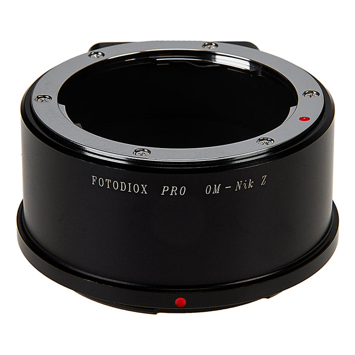 Fotodiox Pro Lens Mount Adapter Compatible with Olympus Zuiko (OM) 35mm SLR Lenses to Nikon Z-Mount Mirrorless Camera Bodies