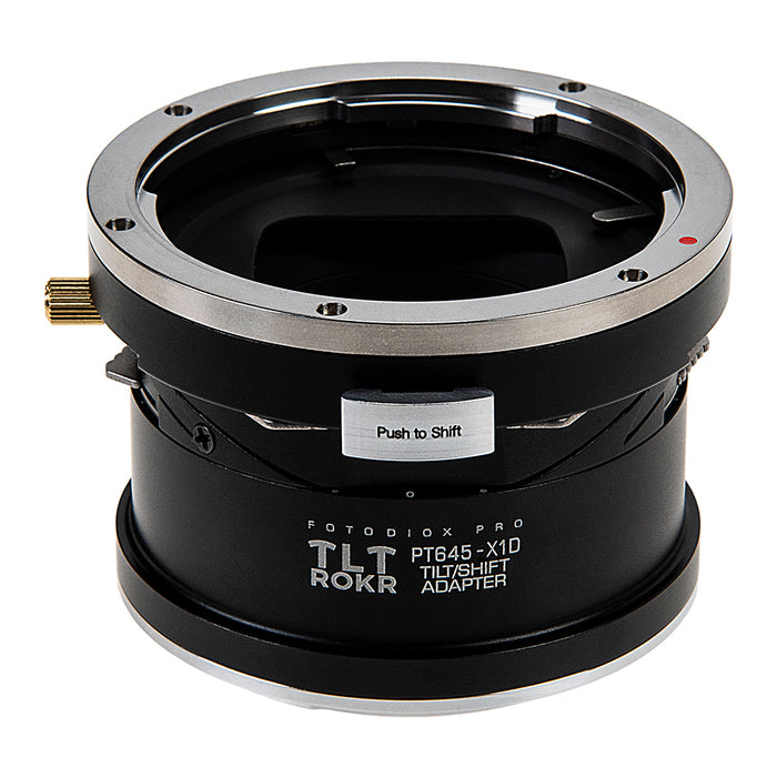 Fotodiox Pro TLT ROKR Lens Adapter - Compatible with Pentax 645 (P645) Mount SLR Lenses to Hasselblad XCD Mount Digital Cameras with Built-In Tilt / Shift Movements