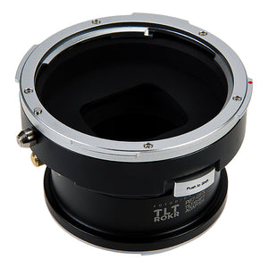 Fotodiox Pro TLT ROKR Lens Adapter - Compatible with Pentax 6x7 (P67, PK67) Mount SLR Lenses to Fujifilm G-Mount Digital Cameras with Built-In Tilt / Shift Movements