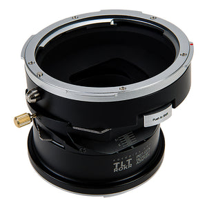 Fotodiox Pro TLT ROKR - Tilt / Shift Lens Mount Adapter Compatible with Pentax 6x7 (P67, PK67) Mount SLR Lenses to Fujifilm Fuji G-Mount GFX Mirrorless Camera Body