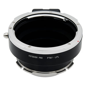 Fotodiox Pro Lens Mount Adapter - Compatible with Pentax 6x7 (P67, PK67) Mount SLR Lenses to Arri LPL (Large Positive Lock) Mount Cameras