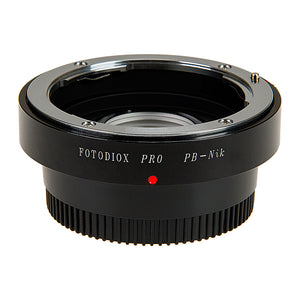 Fotodiox Pro Lens Mount Adapter - Praktica B (PB) SLR Lens to Nikon F Mount SLR Camera Body