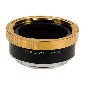 Fotodiox Pro Lens Mount Adapter Compatible with Arri PL (Positive Lock) Mount Lenses to Fujifilm Fuji G-Mount GFX Mirrorless Camera Body