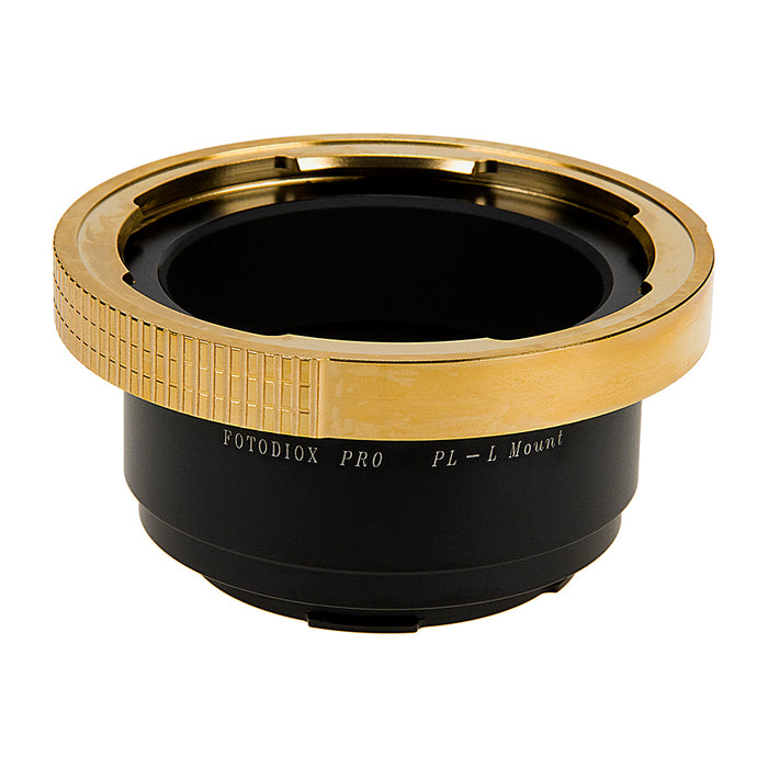 Fotodiox Pro Lens Mount Adapter Compatible with Arri PL (Positive Lock) Mount Lenses to Leica L-Mount (T-Mount) Mirrorless Camera Body