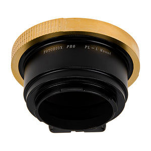 Fotodiox Pro Lens Adapter - Compatible with Arri PL (Positive Lock) Mount Lenses to Leica L-Mount (TL/SL) Mirrorless Cameras