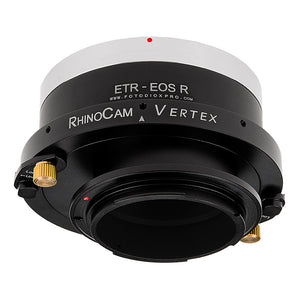 RhinoCam Vertex Rotating Stitching Adapter, Compatible with Bronica ETR Mount SLR Lens to Canon RF Mount Mirrorless Cameras