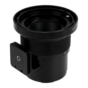 Fotodiox Pro Lens Mount Adapter - Mamiya RB67/RZ67 Mount Lens to Canon RF Mount Mirrorless Camera Body with Built-In Focusing Helicoid
